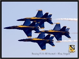 Romb, F/A-18 Hornet, Formacja